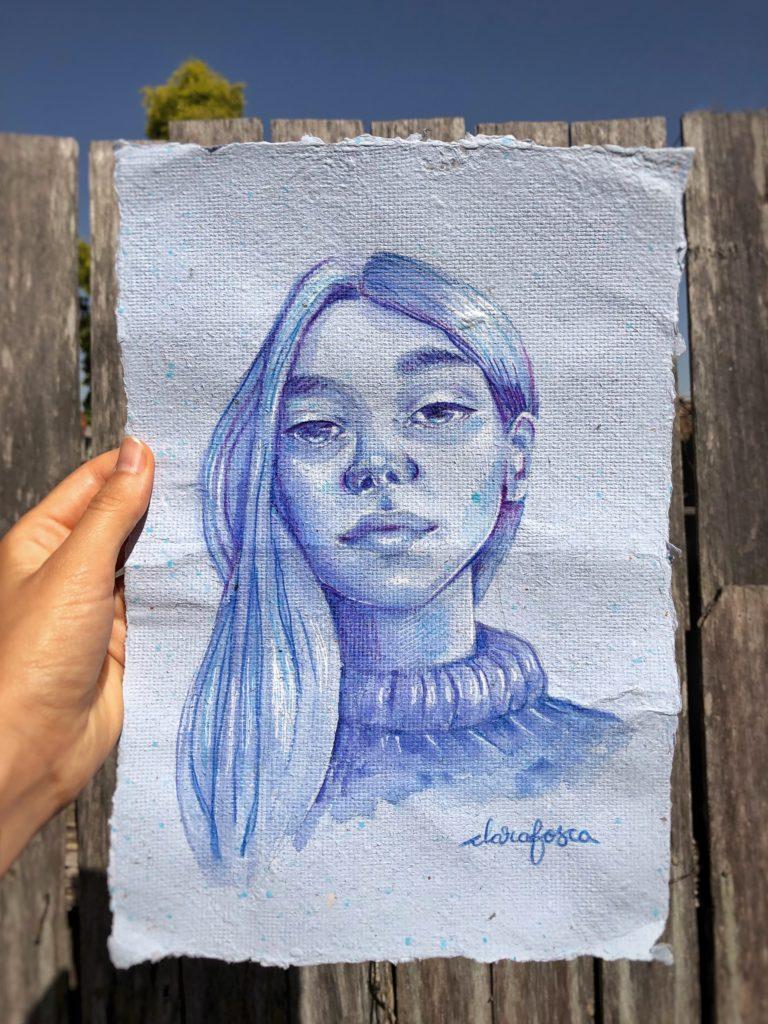 Blue gurl