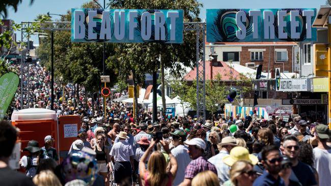 beaufort festival illustration street art perth event