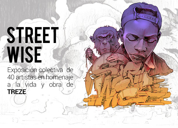 street wise treze exhibition tribute grallery contorno urbano
